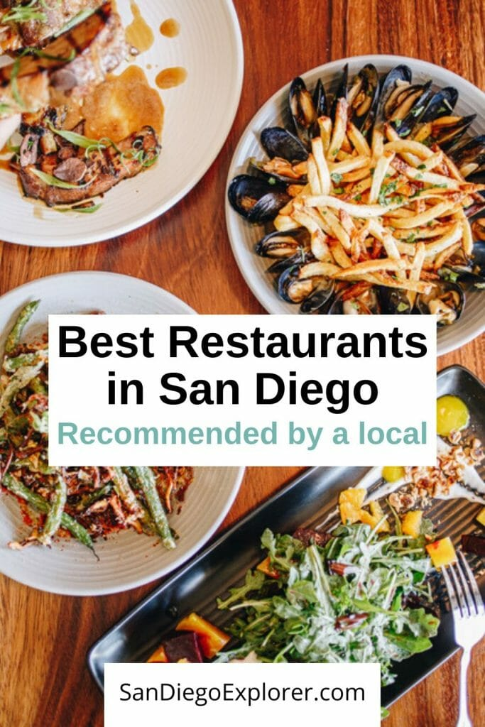 Are you looking for the actual best restaurants in San Diego? Well, look no further! Discover the best place that fits your taste and budget. #sandiegotrip #sandiegotravel #sandiegoitinerary #traveltips #travel #californiatrip #californiatravel #socallifestyle #socaltravel #sandiego #sandiegocalifornia #california #southerncalifornia #sandiegorestaurants #sandiegogrub #sandiegoexplorer #sandiegoeats #foodie #restaurants #food #socalfood #sandiegochefs #localfood #eatlocal