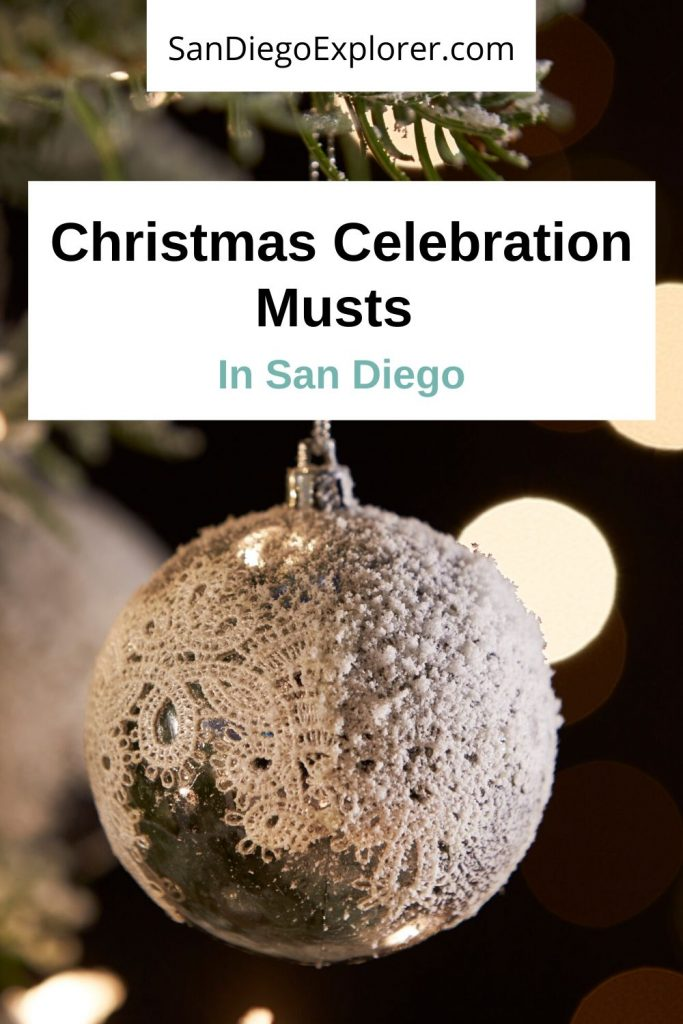 Check this out if you want a Christmas in San Diego. Read about the Christmas highlights and all the winter thrills of San Diego #sandiegotrip #sandiegotravel #sandiegoitinerary #traveltips #travel #californiatrip #californiatravel #socalifestyle #socaltravel #sandiego #sandiegocalifornia #christmas #sdchristmas #sandiegochristmas #california #socal #southerncalifornia #northamerica #usa