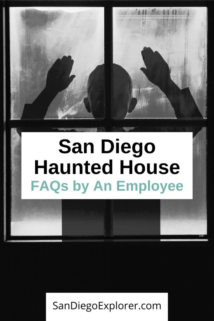 Haunted House Scare Actress Shares Her Favorite Haunted Houses in San Diego and behind the scene tips. Get all those big questions answered by an actual employee of the haunts! #halloween #sandiego #hauntedhouse #traveltips #travel