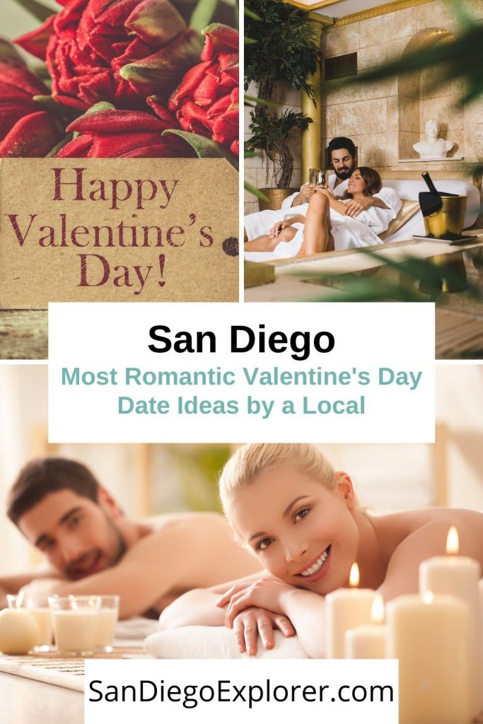 Valentine's Day is just around the corner. Do you have a plan yet to surprise your love? Here are the 10 most romantic San Diego Valentine's Day date ideas that are better than dinner and a movie and make it the perfect San Diego Date night. San Diego Date Ideas - San Diego Couple - San Diego Couples Trip #Vday #valentinesday #bemyvalentine #sandiegodateideas #sandiego #SanDiegoCA #california #SoCal #VisitSanDiego #Travel #CoupleTravel #romantic #Romanticideas #datenight #couplegoals #sandiegoexplorer