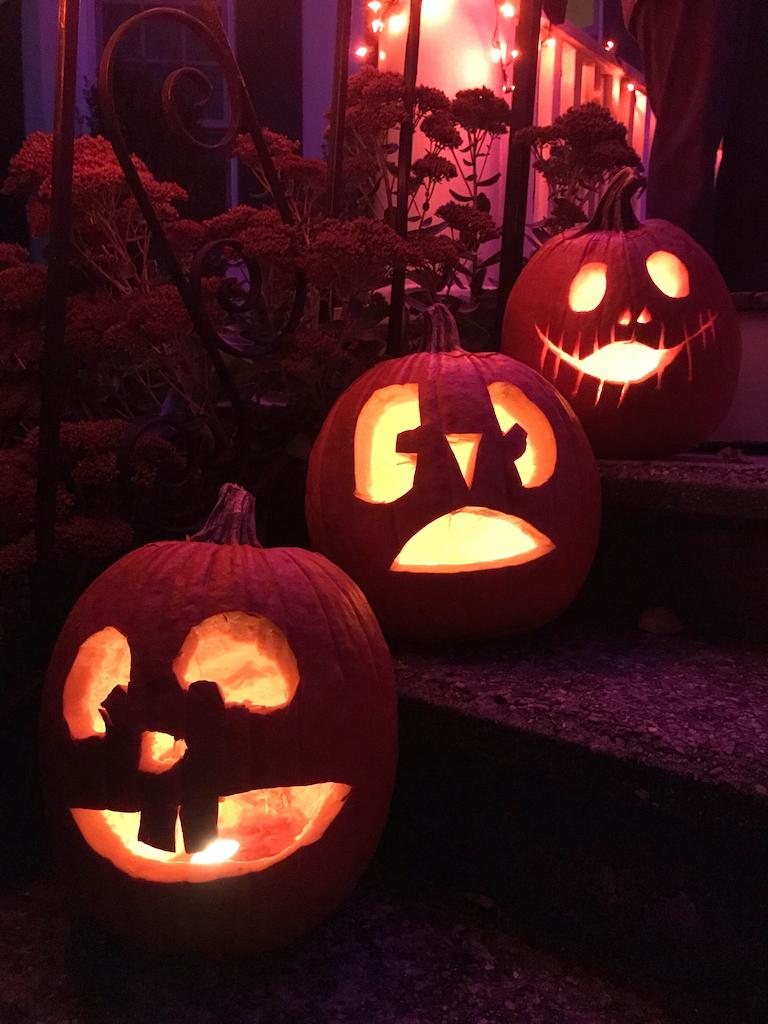 Jack o lantern pumpkins citrouille Halloween