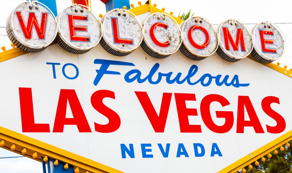 """Famouse """"Welcome to Fabulous Las Vegas Nevada"""" Sign"""